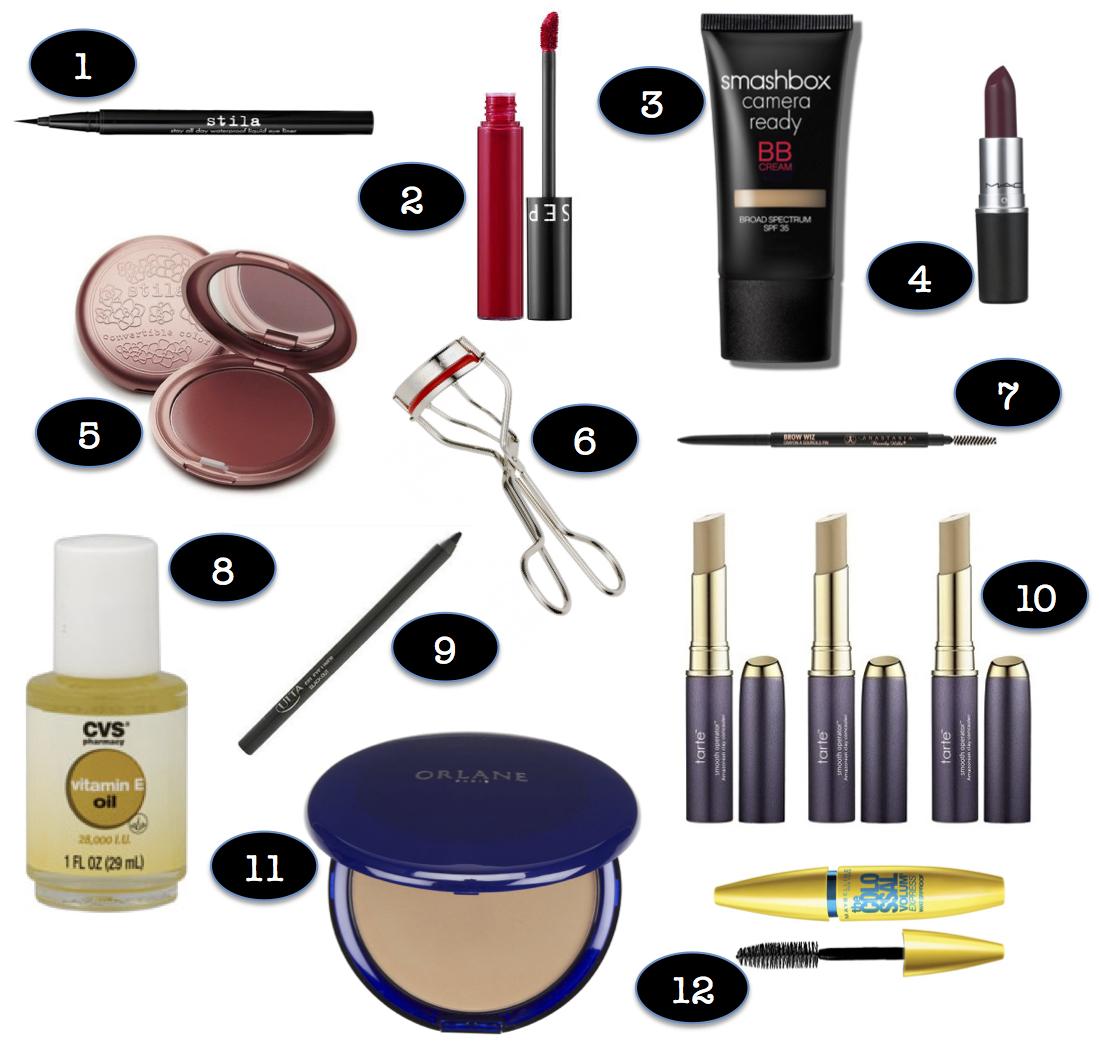 My Makeup Bag Essentials – the petite julie